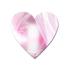 Realm Of Dreams Light Effect Abstract Background Heart Magnet