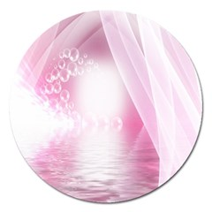 Realm Of Dreams Light Effect Abstract Background Magnet 5  (round)