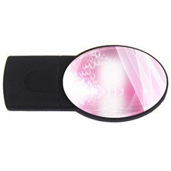 Realm Of Dreams Light Effect Abstract Background Usb Flash Drive Oval (2 Gb)