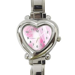 Realm Of Dreams Light Effect Abstract Background Heart Italian Charm Watch