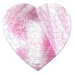 Realm Of Dreams Light Effect Abstract Background Jigsaw Puzzle (Heart)