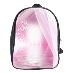 Realm Of Dreams Light Effect Abstract Background School Bags(large)