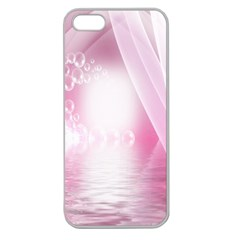 Realm Of Dreams Light Effect Abstract Background Apple Seamless Iphone 5 Case (clear)