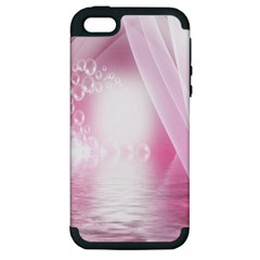 Realm Of Dreams Light Effect Abstract Background Apple Iphone 5 Hardshell Case (pc+silicone)