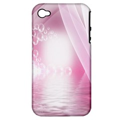 Realm Of Dreams Light Effect Abstract Background Apple iPhone 4/4S Hardshell Case (PC+Silicone)