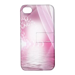 Realm Of Dreams Light Effect Abstract Background Apple iPhone 4/4S Hardshell Case with Stand