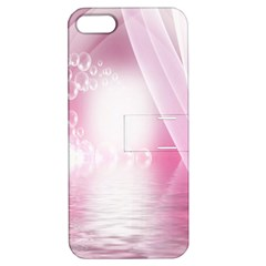 Realm Of Dreams Light Effect Abstract Background Apple iPhone 5 Hardshell Case with Stand