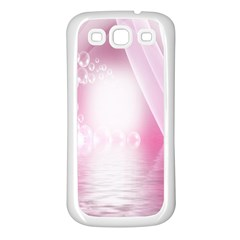 Realm Of Dreams Light Effect Abstract Background Samsung Galaxy S3 Back Case (White)