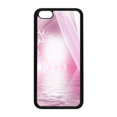 Realm Of Dreams Light Effect Abstract Background Apple iPhone 5C Seamless Case (Black)