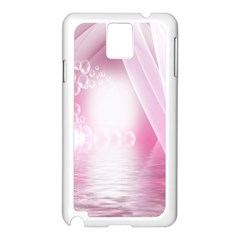 Realm Of Dreams Light Effect Abstract Background Samsung Galaxy Note 3 N9005 Case (White)