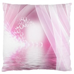 Realm Of Dreams Light Effect Abstract Background Large Flano Cushion Case (two Sides)