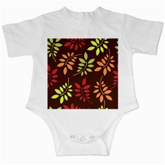 Leaves Wallpaper Pattern Seamless Autumn Colors Leaf Background Infant Creepers