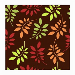 Leaves Wallpaper Pattern Seamless Autumn Colors Leaf Background Medium Glasses Cloth