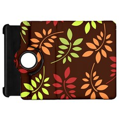 Leaves Wallpaper Pattern Seamless Autumn Colors Leaf Background Kindle Fire HD 7