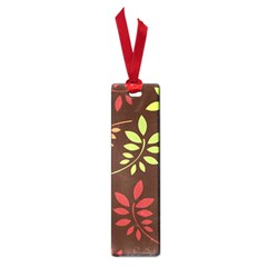 Leaves Wallpaper Pattern Seamless Autumn Colors Leaf Background Small Book Marks