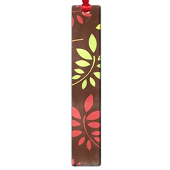 Leaves Wallpaper Pattern Seamless Autumn Colors Leaf Background Large Book Marks