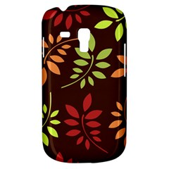 Leaves Wallpaper Pattern Seamless Autumn Colors Leaf Background Galaxy S3 Mini