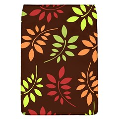 Leaves Wallpaper Pattern Seamless Autumn Colors Leaf Background Flap Covers (L)