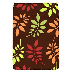 Leaves Wallpaper Pattern Seamless Autumn Colors Leaf Background Flap Covers (s)