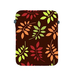 Leaves Wallpaper Pattern Seamless Autumn Colors Leaf Background Apple iPad 2/3/4 Protective Soft Cases