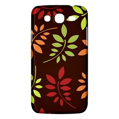 Leaves Wallpaper Pattern Seamless Autumn Colors Leaf Background Samsung Galaxy Mega 5.8 I9152 Hardshell Case