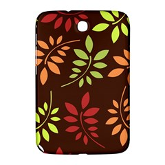 Leaves Wallpaper Pattern Seamless Autumn Colors Leaf Background Samsung Galaxy Note 8.0 N5100 Hardshell Case