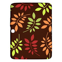 Leaves Wallpaper Pattern Seamless Autumn Colors Leaf Background Samsung Galaxy Tab 3 (10.1 ) P5200 Hardshell Case
