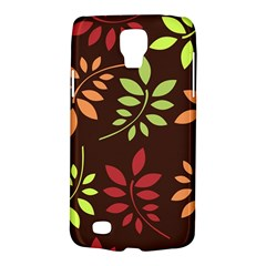 Leaves Wallpaper Pattern Seamless Autumn Colors Leaf Background Galaxy S4 Active