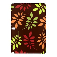 Leaves Wallpaper Pattern Seamless Autumn Colors Leaf Background Samsung Galaxy Tab Pro 10.1 Hardshell Case