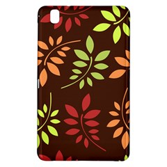 Leaves Wallpaper Pattern Seamless Autumn Colors Leaf Background Samsung Galaxy Tab Pro 8.4 Hardshell Case