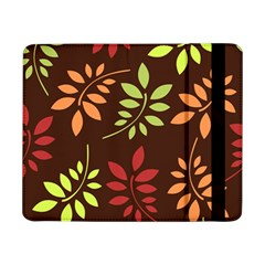 Leaves Wallpaper Pattern Seamless Autumn Colors Leaf Background Samsung Galaxy Tab Pro 8.4  Flip Case