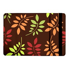 Leaves Wallpaper Pattern Seamless Autumn Colors Leaf Background Samsung Galaxy Tab Pro 10.1  Flip Case