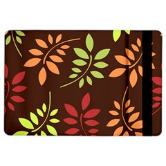 Leaves Wallpaper Pattern Seamless Autumn Colors Leaf Background iPad Air 2 Flip