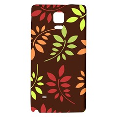 Leaves Wallpaper Pattern Seamless Autumn Colors Leaf Background Galaxy Note 4 Back Case