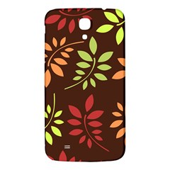 Leaves Wallpaper Pattern Seamless Autumn Colors Leaf Background Samsung Galaxy Mega I9200 Hardshell Back Case