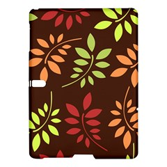 Leaves Wallpaper Pattern Seamless Autumn Colors Leaf Background Samsung Galaxy Tab S (10.5 ) Hardshell Case