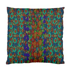 Sea Of Mermaids Standard Cushion Case (two Sides)