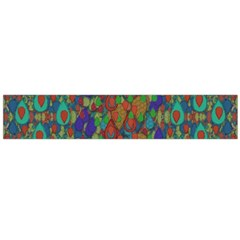 Sea Of Mermaids Flano Scarf (large)