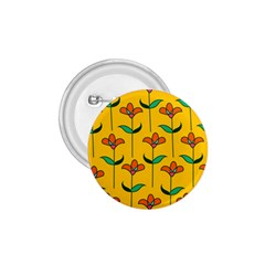 Small Flowers Pattern Floral Seamless Vector 1.75  Buttons