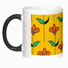 Small Flowers Pattern Floral Seamless Vector Morph Mugs