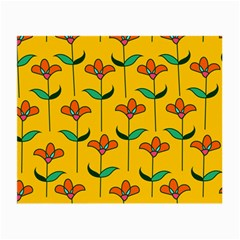 Small Flowers Pattern Floral Seamless Vector Small Glasses Cloth