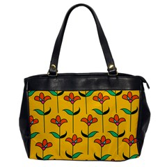Small Flowers Pattern Floral Seamless Vector Office Handbags