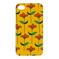 Small Flowers Pattern Floral Seamless Vector Apple iPhone 4/4S Hardshell Case