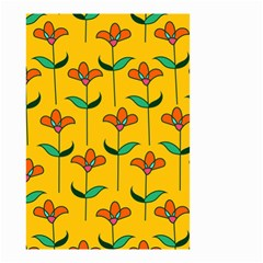 Small Flowers Pattern Floral Seamless Vector Small Garden Flag (Two Sides)