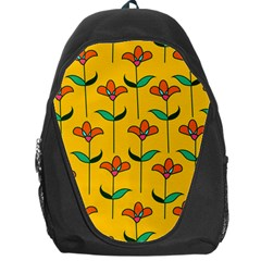 Small Flowers Pattern Floral Seamless Vector Backpack Bag
