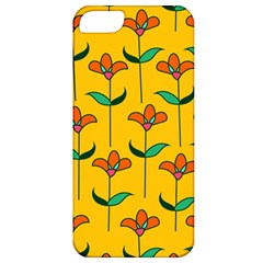 Small Flowers Pattern Floral Seamless Vector Apple Iphone 5 Classic Hardshell Case
