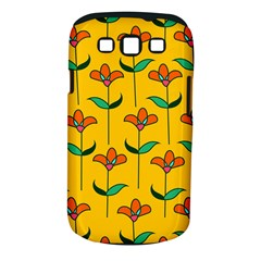 Small Flowers Pattern Floral Seamless Vector Samsung Galaxy S III Classic Hardshell Case (PC+Silicone)