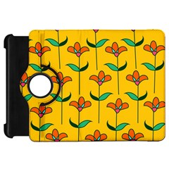 Small Flowers Pattern Floral Seamless Vector Kindle Fire HD 7