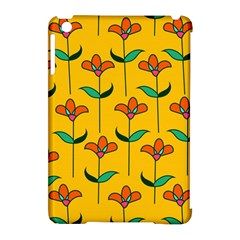 Small Flowers Pattern Floral Seamless Vector Apple iPad Mini Hardshell Case (Compatible with Smart Cover)