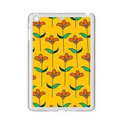 Small Flowers Pattern Floral Seamless Vector iPad Mini 2 Enamel Coated Cases